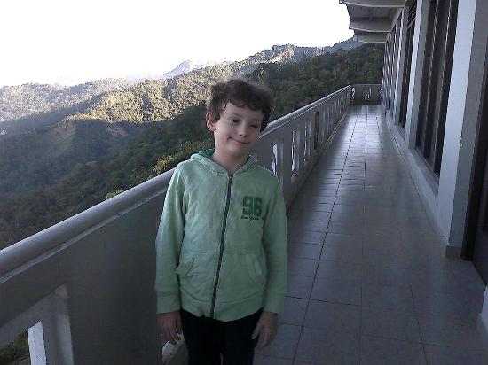 Green View Holiday Resort: Vista incredibile dal balcone!!
