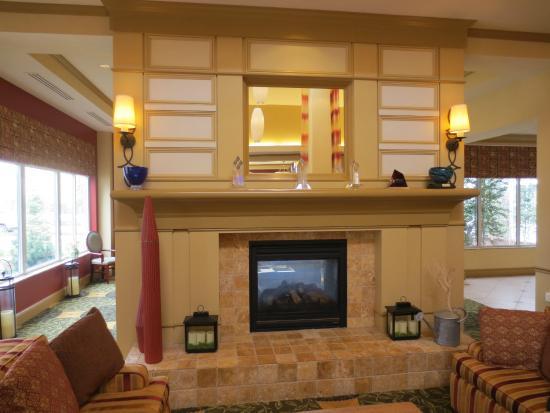 Pretty lobby Picture of Hilton Garden Inn Blacksburg Blacksburg