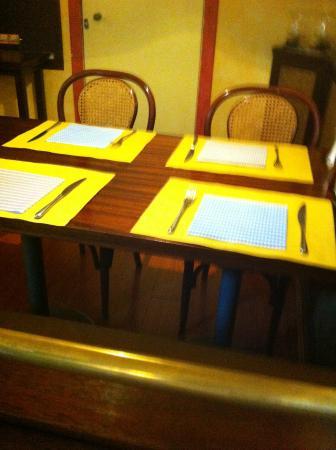 Dietro le Quinte Ristorante : tavolo