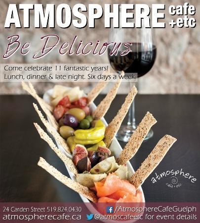 Atmosphere Cafe : Celebrating 11 Years