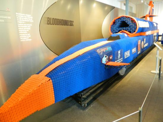 Coventry, UK: Bloodhound SSC Full Size Model