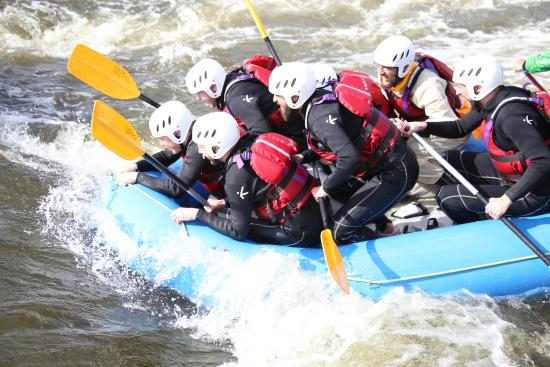 Rapid Horizons Ltd: White Water Rafting at Holme Pierrepont, Nottingham