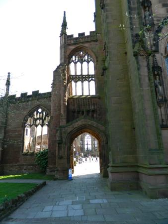 Coventry, UK: A view of the entrance