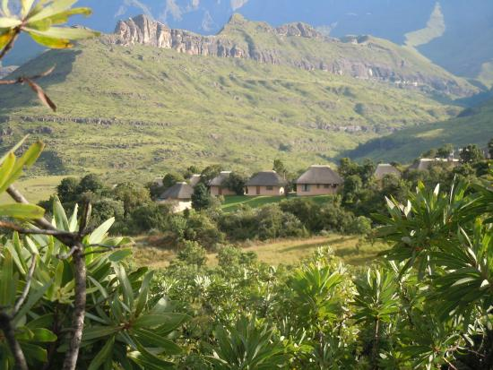 Thendele Hutted camp : Thendele Camp, Drakensberg Mountain