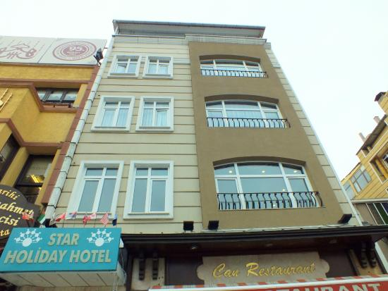 Star Holiday Hotel: Extreior view of our hotel