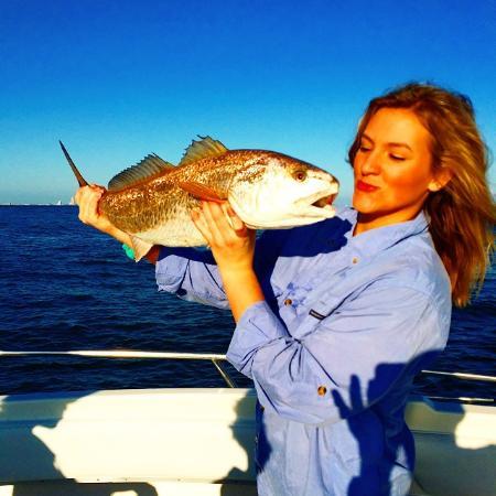 how to catch redfish in galveston