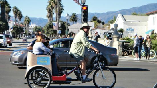 Santa Barbara Pedicab