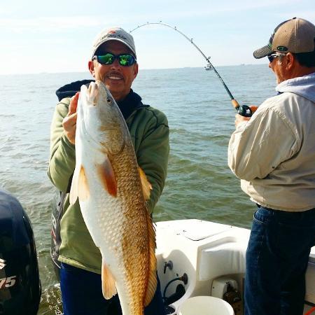 Redfish in galveston bay picture of fishing galveston tx for Fishing in galveston