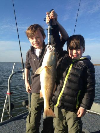 Kid friendly fishing charters picture of fishing for Flounder fishing galveston