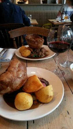 The Pig and Butcher: superbe roast