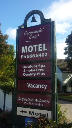 Coromandel Court Motel: A great place to stay
