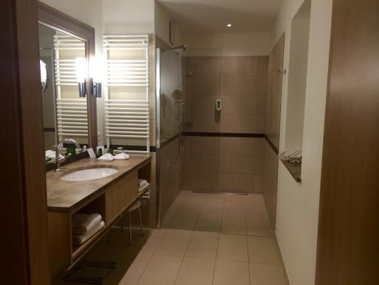 Spacious Bathroom With Separate Toilet Room In Our Romantic Suite