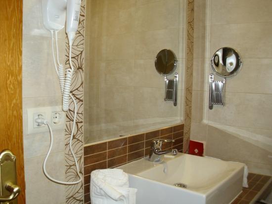 Hotel Condes de Castilla: baño