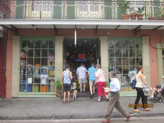 Jamie Hayes Gallery: The store front
