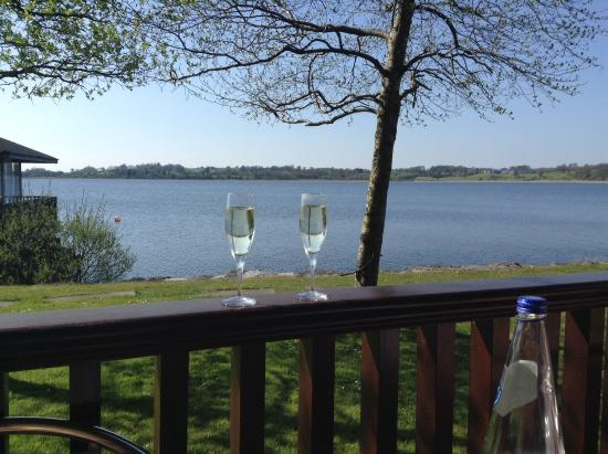 Wineport Lodge: Prosecco at Wineport