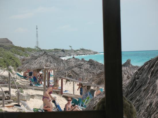 View from Beach Bar!