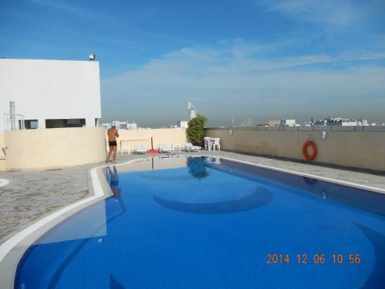 Akas Inn Hotel Apartment Roof Top Swimming Pool