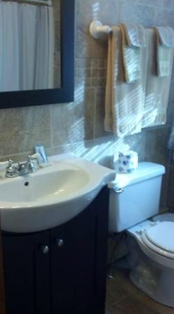 Myer Country Motel: Bathroom seemed new and very clean