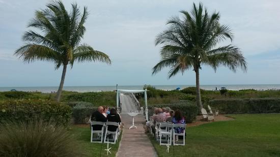 Beach Wedding Picture Of Sanibel