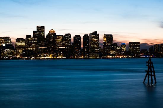 Hyatt Regency Boston Harbor: View of harbor from hotel
