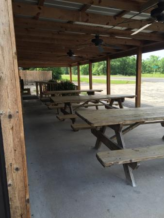 Anderson, TX: Outdoor seating