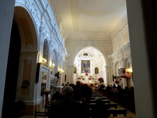 Scalea, Italia: Праздничная служба в Церкви Святого Николая Чудотворца в Скалее - Италия