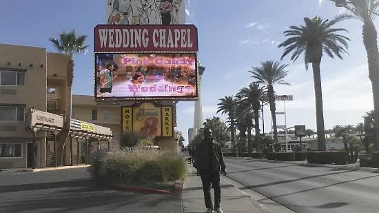 Super 8 Las Vegas North Strip /Fremont Street Area: outside street
