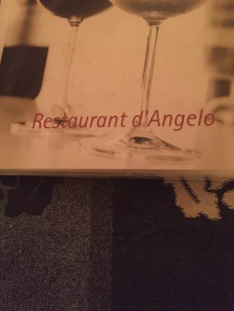 Ternaard, Нидерланды: Restaurant D'Angelo