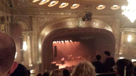View From Seat Picture Of Benedum Center Pittsburgh Tripadvisor