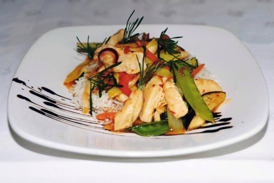 McSweeney Arms Hotel : Chicken Stir Fry