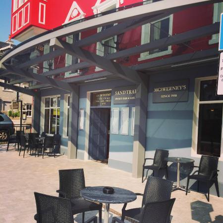McSweeney Arms Hotel : Outside Seating