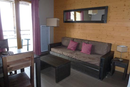 Residence Le Pic de l'Ours: Salon
