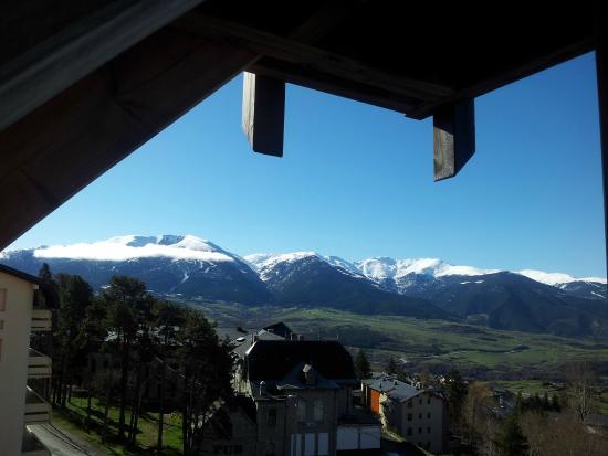 Residence Le Pic de l'Ours: Vue montagne