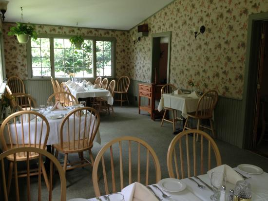 """The Crocker House Country Inn: The """"Porch"""" dining room"""