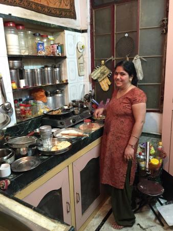 Shanti House: La cucina