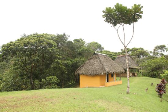 La Loma, Panama : Our cabin on top of the hill