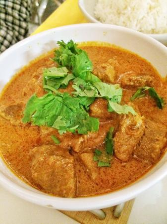 KURZ a CURRY: Indian style curry with lamb