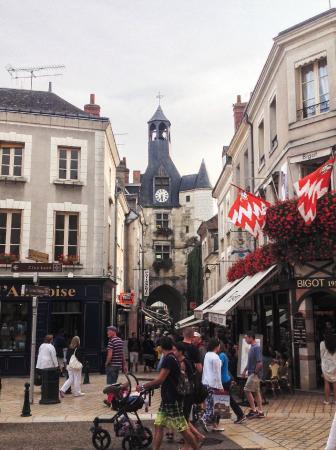 Hotel Le Francais : the center