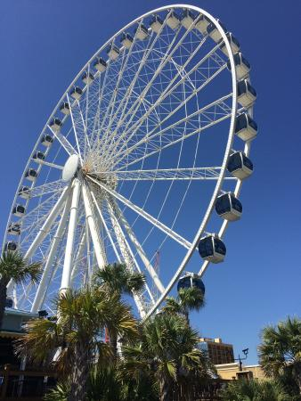 Sky Wheel At Myrtle Beach Sc Picture