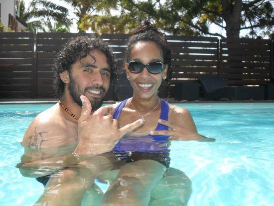 Le Lagon Hotel: Super, la piscine est chauffé entre 26 et 29°!
