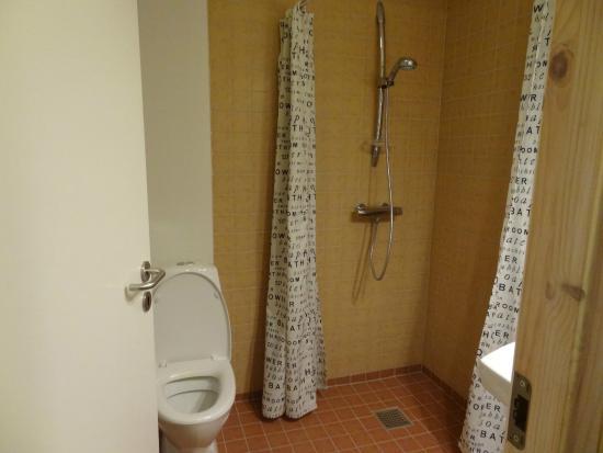Skjoldbjerg Garnihotel : Bathroom