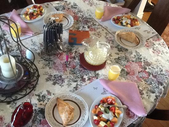 Cindy's Bed & Breakfast: Big country breakfast