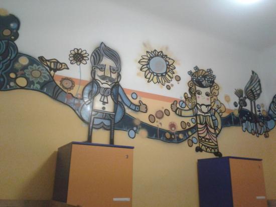 Colors Hostel: Decoração do quarto