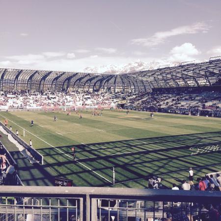 le stade des Alpes : FCG/RCT