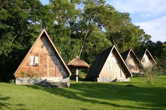 Monteiro Lobato, SP: Chalés de madeira