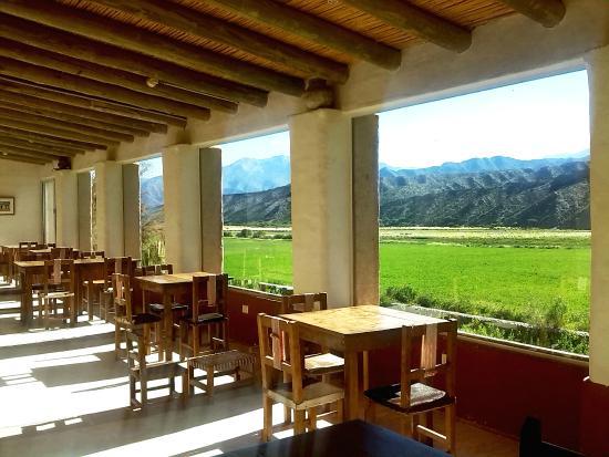 Sala de Payogasta: Vista del comedor