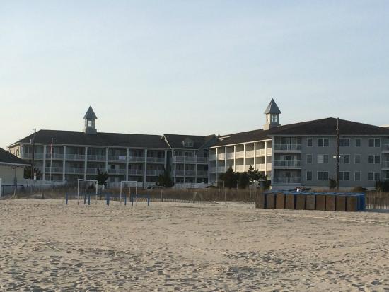 Sandpiper Beach Resort: view from the beach