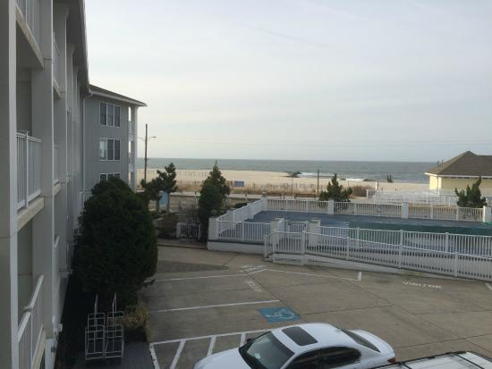 Sandpiper Beach Resort: View from our balcony