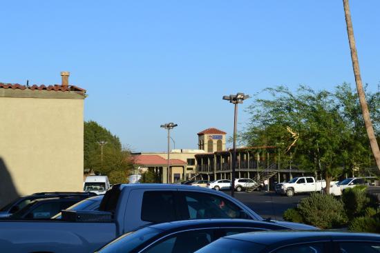 BEST WESTERN Desert Villa Inn: Back in the back