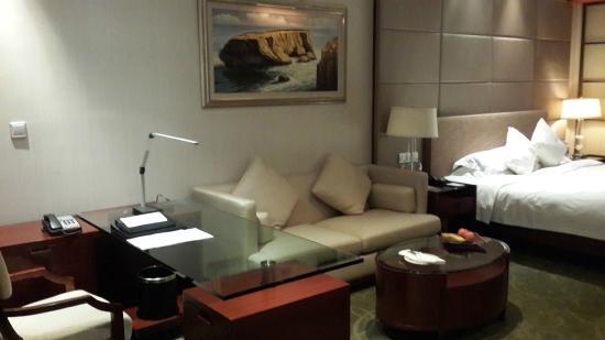 Haiyatt Garden Hotel-Dongguan: Room interior